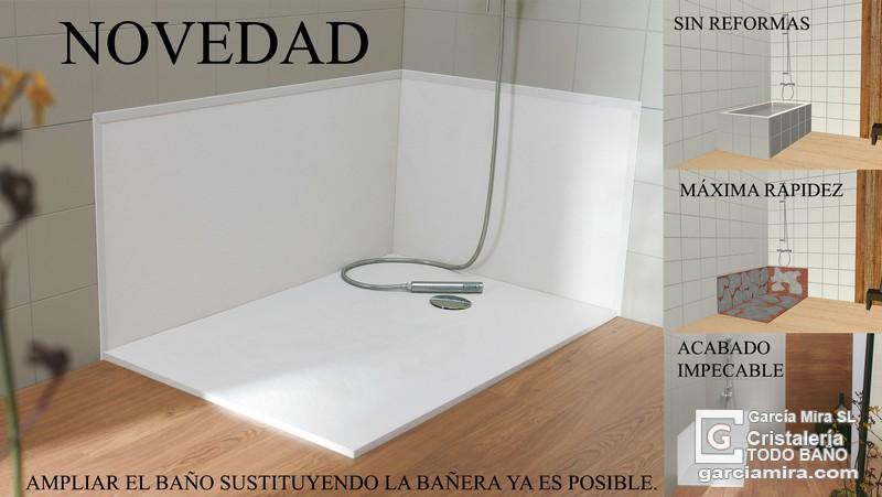 Cambio ba era por ducha cristaler a garc a mira - Cambio de banera por plato de ducha sin obras ...
